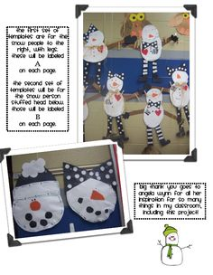 First Grade with a Cherry on Top: Sneezy the Snowman Writing Craftivity!