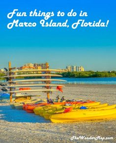 Looking for exciting and relaxing things to do in Marco Island, Florida? Click to get our tips to plan your trip.