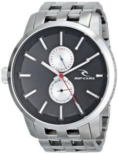 Men's Wrist Watches - Rip Curl Mens A2738 Stainless Steel Watch * Want additional info? Click on the image.