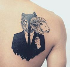 Wolf tattoo on back Wolf tattoos Mayan Tattoos, Wolf Tattoos, Arm Band Tattoo, Sleeve Tattoos, Tattoo Designs Wrist, Wolf Tattoo, Maori Tattoo, Dragon Tattoo, Sheep Tattoo