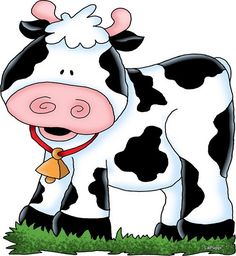 Moo what does moo mean anyway? Cute Drawings, Animal Drawings, Sweet Cow, Cartoon Cow, Arte Country, Pintura Country, Cute Cows, Funny Cows, Cow Art