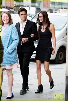 John Stamos & Girlfriend Caitlin McHugh Look So Happy for Date Night in London!
