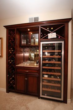 Built In Wine Rack Design Ideas, Pictures, Remodel, and Decor - page 5