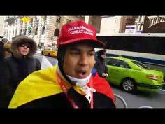 Mar 5 17 Pro-Trump Rally vs. ANTIFA Protestors at Trump Tower in NYC on March 4, 2017 #DNN