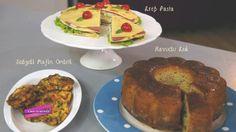 Sebzeli Mafin, Krep Pasta, Havuçlu Kek
