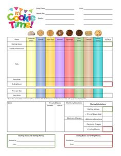 I designed forms for both ABC Bakers and Little Brownie Bakers, and you are welcome to use the provided editable versions to make any cha. Girl Scout Swap, Girl Scout Leader, Girl Scout Troop, Selling Girl Scout Cookies, Girl Scout Cookie Sales, Girl Scout Daisy Activities, Girl Scout Crafts, Gs Cookies, Girl Scout Juniors