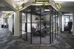 kraaijvanger architects turns CIC rotterdam's offices into an urban jungle