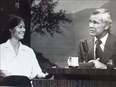JOHNNY CARSON SHOW A PINNACLE IN SHOW BUSINESS.