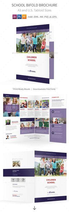 21 Best School Brochure Template Psd Images On Pinterest School