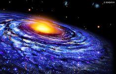 The Galaxy, the sea of stars(星の海、銀河系) KAGAYA(加賀谷穣:かがやゆたか)