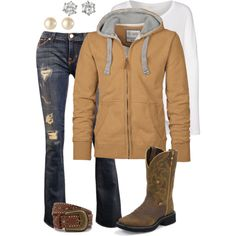 Untitled #463, created by hotcowboyfan on Polyvore