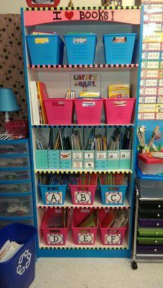 Book Bin Labels Created by Alma Almazan