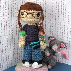 Crochet selfie by CraftyTibbles.deviantart.com on @DeviantArt
