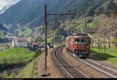 RailPictures.Net Photo: 165 BLS Lotschbergbahn Re 4/4 (Re 425) at Wassen, Switzerland by Georg Trüb