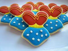 wonder woman cookies - Buscar con Google