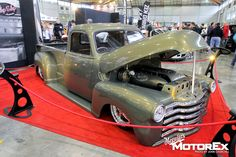 Aaron Gregory 51 Chevy Truck. Probably the sweetest truck i've seen.