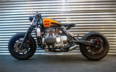 ..._1987 HONDA GOLDWING 'WAR BIRD' - EBAY - INAZUMA CAFE RACER
