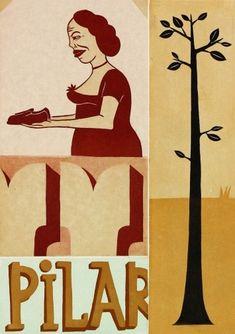 Paddle8: Pilar - Margaret Kilgallen