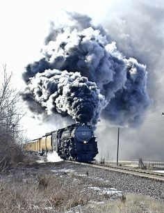 """Union Pacific """"Challenger""""."""