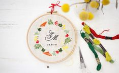 Workshops 2019 - DIE BUNTIQUE Workshop, Embroidery Designs, Wreaths, Decor, Dekoration, Atelier, Decoration, Door Wreaths, Deco Mesh Wreaths