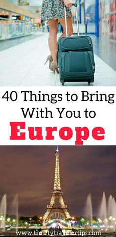 If you are planning a trip to Europe, have no fear. This is a thorough Europe packing list of everything you need to travel Europe for a month. It includes clothes to pack, technology to pack, and our favorite travel gear. Don't forget to save this packing list post for later!