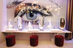 ... The women's restaurant in Vanity at the Hard Rock Hotel is like a spa - Las Vegas - Leila Navid