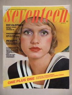 February 1972 cover with Beshka Sorensen