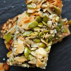 Seeded Cranberry Crunch Bars Recipe