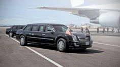New Cadillac presidential limousine to debut at Donald Trump's inauguration  PRESIDENT TRUMP'S LIMO MAY NOT BE ALL THAT DIFFERENT FROM PRESIDENT OBAMA'S November 9, 2016    Read more: http://autoweek.com/article/car-news/new-cadillac-donald-trump-presidential-limousine-debut-inauguration#ixzz4VaZqyJAz
