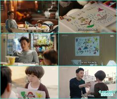 bum wanted to sold the drawings but now hwa shin don't want to buy after na ri told she pity him  - Jealousy Incarnate - Episode 12 Review