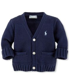 Ralph Lauren Baby Boys' Cardigan Sweater