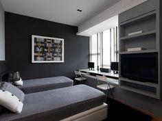 Punggol HDB - Bedroom & Study Room Interior Design & Renovation by Unimax Creative