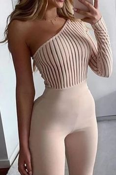 Jumpsuit, cocktail, evening, holiday, graduation, homecoming, guest of the wedding, night out, party, zipper back, one shoulder, formal occasion, special occasion, new years eve Night out, party, zipper back, one shoulder, formal occasion, special occasion, new years eve, jumpsuit, cocktail, evening, holiday, graduation, homecoming, guest of the wedding  jumpsuits for women casual  jumpsuits for women classy  jumpsuit outfit casual  jumpsuit formal parties   #jumpsuits #jumpsuitoutfit Rompers Women, Jumpsuits For Women, Provonias Wedding Dress, Bodycon Jumpsuit, Jumpsuit Outfit, Casual Jumpsuit, Long Jumpsuits, Playsuits, Pattern Fashion