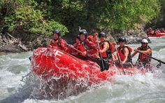 Alpine Rafting, Kicking Horse River, Golden, British Columbia