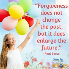 """From Chicken Soup for the Soul: Create Your Best Future, """"Happiness Through Forgiveness"""" """"It was raining the day I found out. Not just a light sprinkle, but a heavy, foggy, cold February downpour."""" Read more: http://www.chickensoup.com/book-story/171419/happiness-through-forgiveness"""
