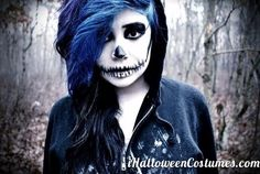 skeleton makeup for Halloween Day » Halloween Costumes 2013
