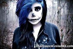 skeleton makeup for Halloween Day » Halloween Costumes 2013