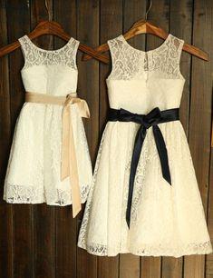 Kleidung & Accessoires Girls Light Grey Black Zip Rosette Trim Quilted Sporty Style Party Dress Age 2-3 Grade Produkte Nach QualitäT
