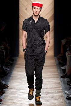Bottega Veneta Spring 2016 Menswear - Collection thefashionjumper.com #allblack