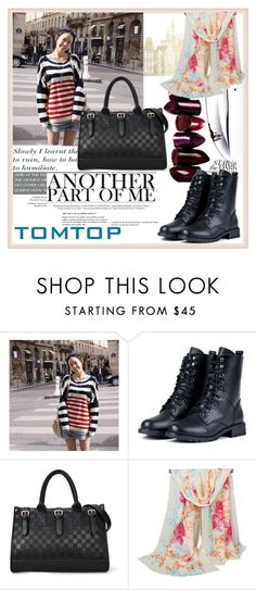 """TOMTOP+ 20"" by damira-dlxv ❤ liked on Polyvore featuring Giorgio Armani"