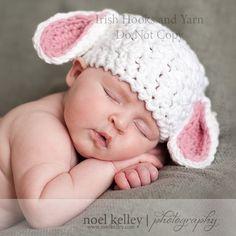 CROCHET PATTERN Lovable Lamb Hat   Sizes by speckledfrogcrochet, $4.99