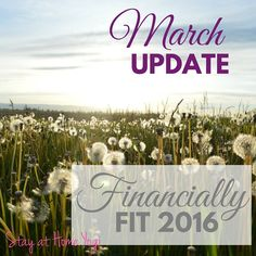 March Update | Financially Fit 2016