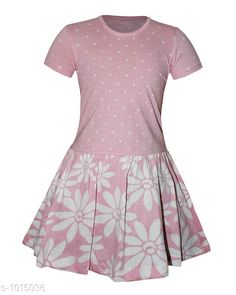 Checkout this latest Frocks & Dresses Product Name: *Elegant Fashionable Cotton Frock* Sizes: 2-3 Years, 3-4 Years, 5-6 Years, 7-8 Years, 8-9 Years Country of Origin: India Easy Returns Available In Case Of Any Issue   Catalog Rating: ★3.8 (226)  Catalog Name: Girl's Fashionable Cotton Frocks CatalogID_122201 C62-SC1141 Code: 223-1015036-477