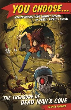 Choose Your Own Adventure for a New Generation of Readers! Review of the 'You Choose' series Written by George Ivanoff. Illustrated by James Hart. Publisher: Random House Australia Age Range: Middle Primary Themes: adventure, action, magic, mystery, choose your own adventure. In my early teens I was a big fan of Choose Your Own Adventure
