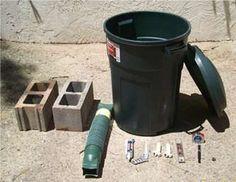 rain barrel ciner blocks things needed to make your own rain barrel