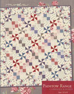 Padstow Range Quilt Pattern by Moda at Bear Creek Quilting Company