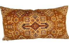 Rug Fragment Pillow on OneKingsLane.com