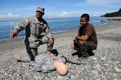 Training in the Philippines