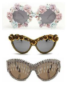 A-Morir - Cass, McDowall y Sylvester models Óculos Feminino, Usando Óculos, 8e998f9713
