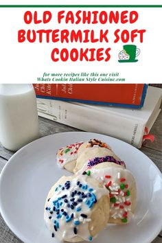 Old Fashioned Buttermilk Soft Cookies Chocolate Chip Cookies, Soft Sugar Cookies, Cupcake Cookies, Delicious Cookie Recipes, Holiday Cookie Recipes, Best Cookie Recipes, Easy No Bake Desserts, Homemade Desserts, Great Desserts